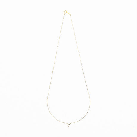 float necklace yellow gold