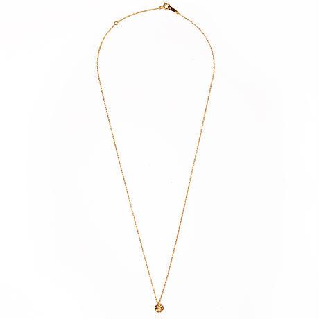 victoria plate necklace