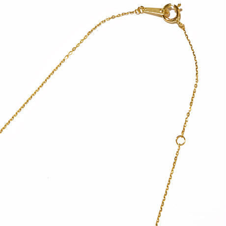 tiny necklace/yellow gold