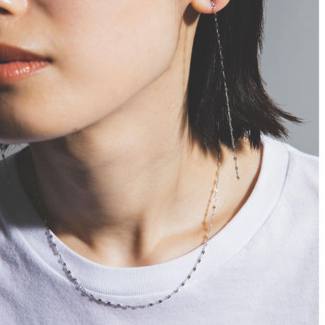 sunlight necklace / white gold