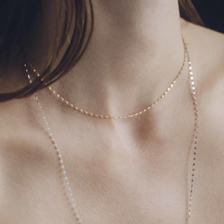 victoria necklace / yellow gold