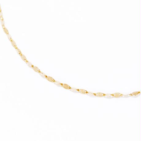 eclair chain necklace【エクレアチェーンネックレス】