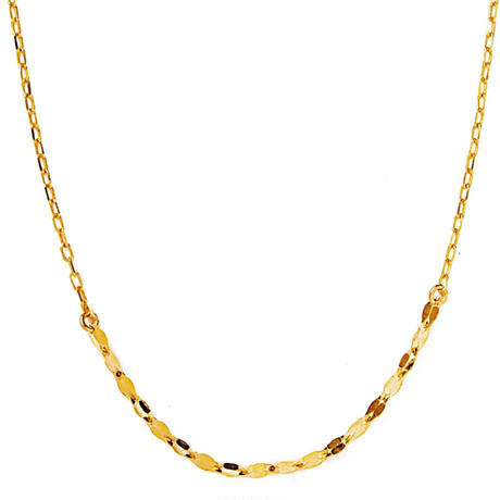 drop éclair necklace【ドロップエクレアネックレス】