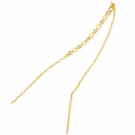 bar chain pierce【バーチェーンピアス】