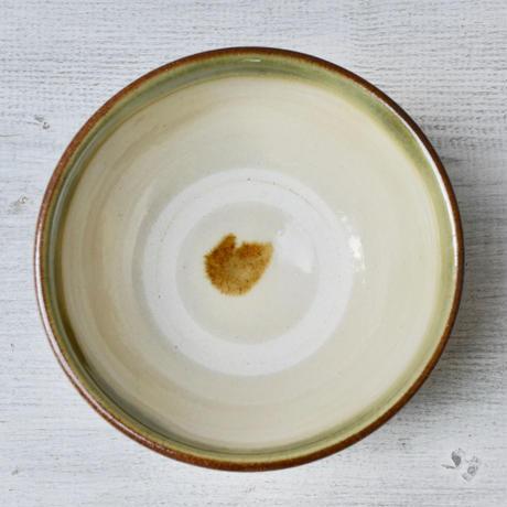 沖縄  糸満 3.5寸マカイ(飴緑唐草)
