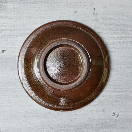 福岡 小石原焼 4寸縁鉄皿 白