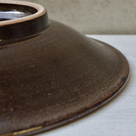 沖縄  糸満 8寸皿