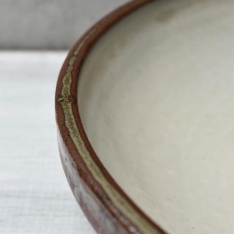 福岡 小石原焼 7寸浅鉢
