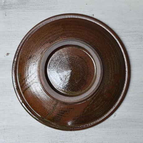 福岡 小石原焼 6寸トビカンナ皿 白