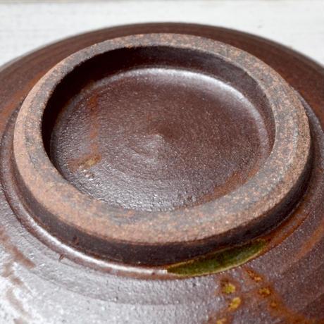福岡 小石原焼 3寸皿トビカンナ 白