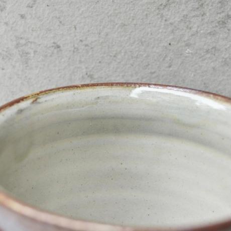 福岡 小石原焼 フリーカップ櫛描き 飴