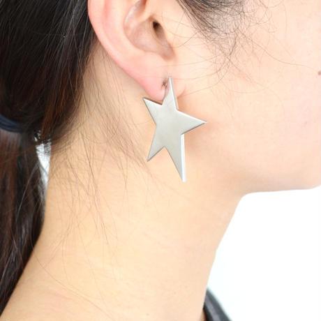 star pierce (reversible / large / gold×silver)