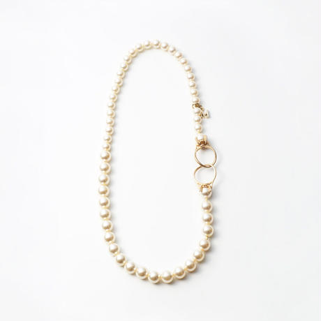 pearl necklace (6mm×8mm pearl / 38cm)