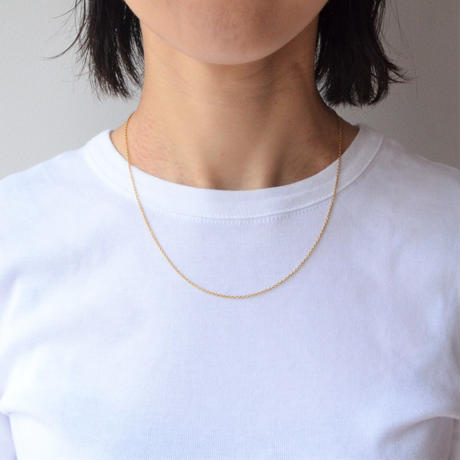 Basic chain necklace (gold / thin)