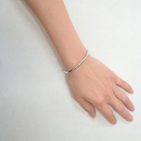 【ORDER】signet bangle (silver / silver925)