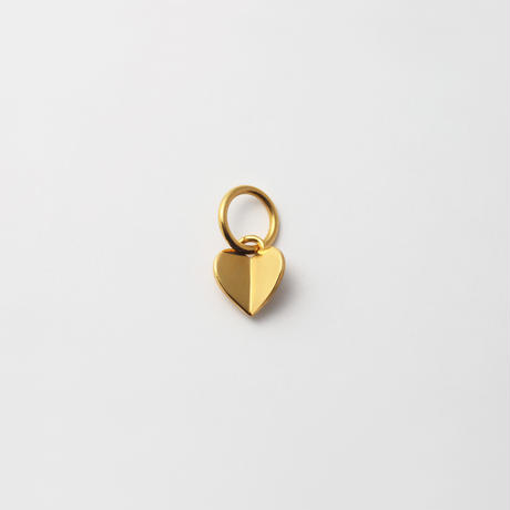 Tiny heart charm (gold)