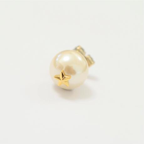 bijoux pierce ( 4crystals / clear / star back)