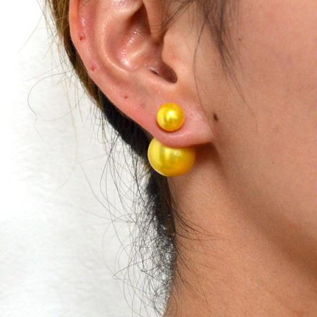 enamel pierce (yellow)