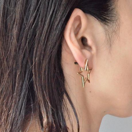Star openwork pierce (gold)