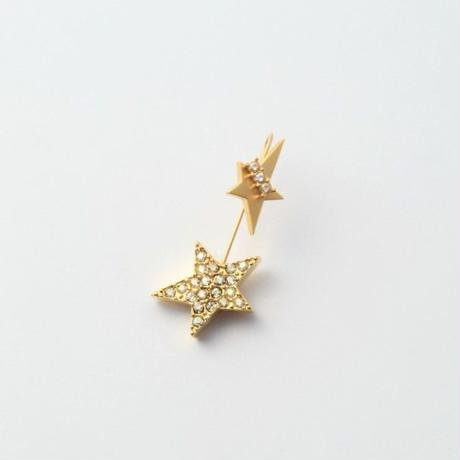 star 3way pierce(K10 post/cubiczirconia/swarovski element)