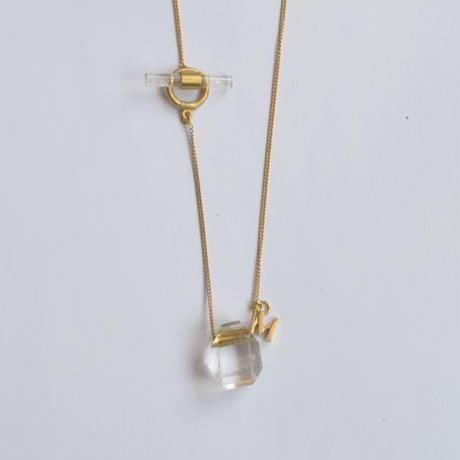 Kaleido necklace (Quartz / random)