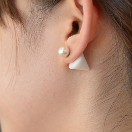 conic catch pierce (white)