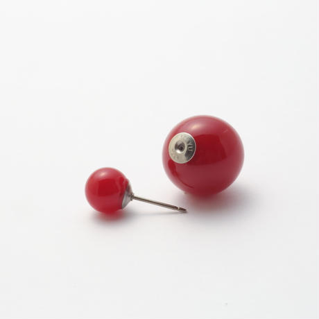 Cherry red PEARL RIVETS(8mm×14mm)