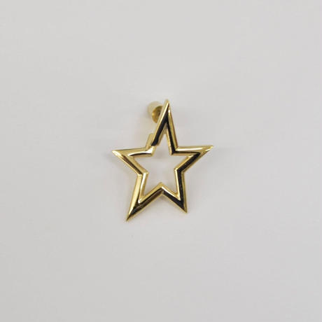 Star openwork pierce (gold)