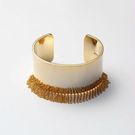 Fringe Bangle(30㎜/Gold)