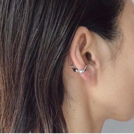Silver line earring ( 17mm )