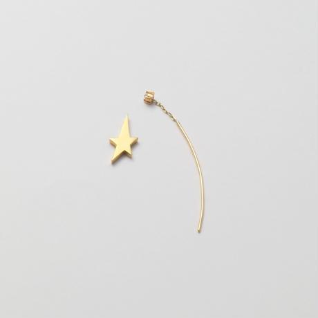 2way star pierce (cubic zirconia/40mm bar)