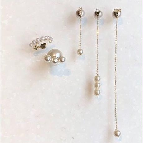 pearl chain pierce (long)