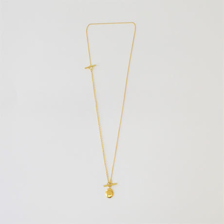 signet necklace (gold / silver925)