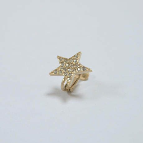 star earring ( small / pave )