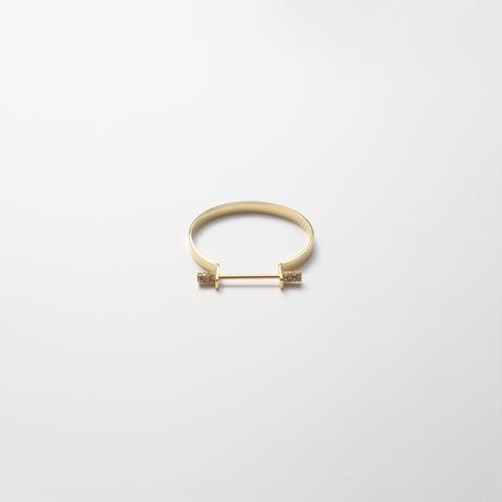 Collar bar  bangle (6mm width)