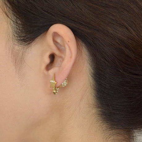 star earring(cubiczirconia/swarovski element)