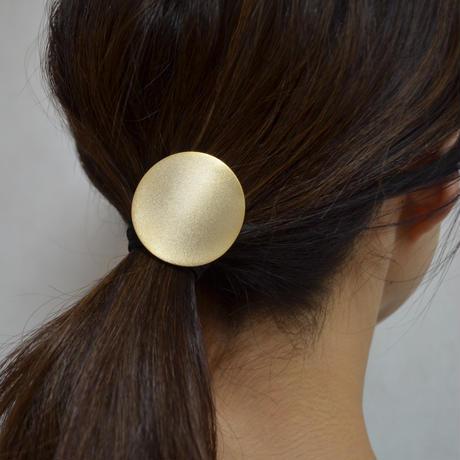 moon hair jewelry (40mm moon/ mirror gold)