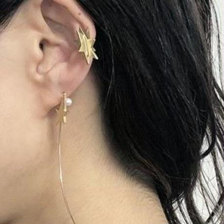 Star ear cuff (cubic star/gold)