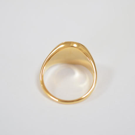 signet ring (vertical / gold / silver925)