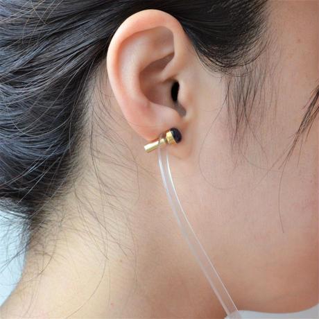 Tanzanite K18 post pierced earring