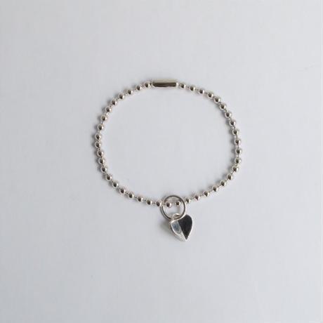3.5mm ball chain bracelet (silver / S size: 18cm)