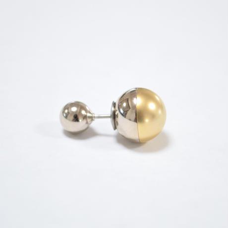 metallic pearl rivets ( silver / shine silver / mat gold)