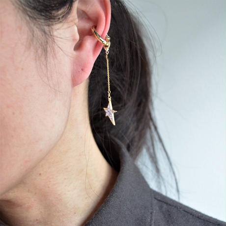 LIMITED COLLECTION 【Light purple star earring 】