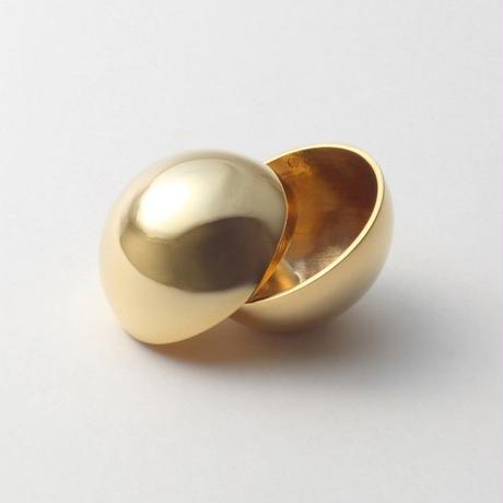 36mm sphere pierce (gold)