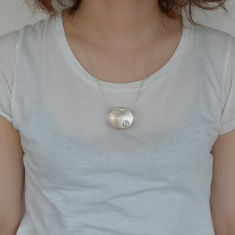 inclusion necklace (cubic zirconia)