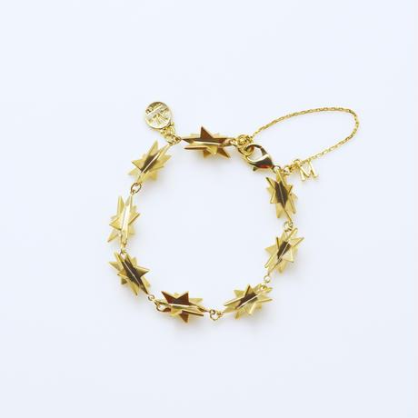 star bracelet (cubic star / gold)