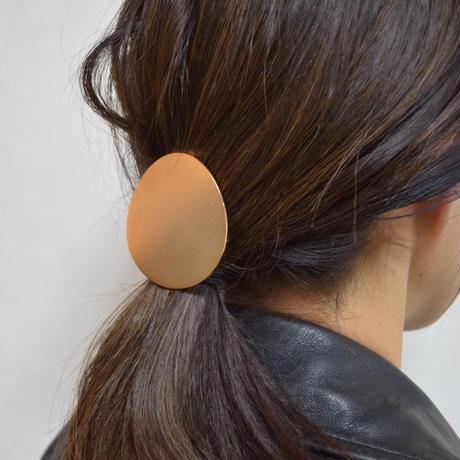 moon hair jewelry (60mm moon/ mirror gold)