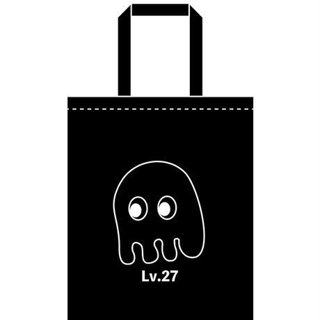 オバケ(LV.27)エコバッグマチなし(BLACK)