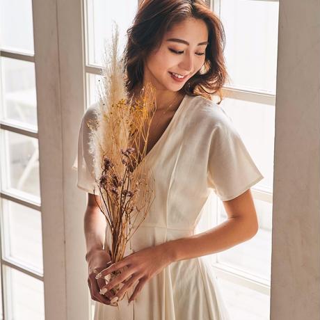 airy cotton long dress
