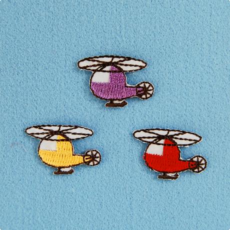 モチーフワッペン / ヘリコプター